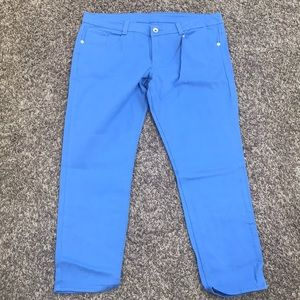 Alloy Apparel Powder Blue Skinny Jeans NWOT Sz 20